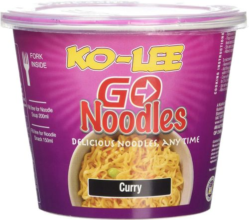 Ko-lee Go Cup Noodles Curry Flavour 65 g (UK)